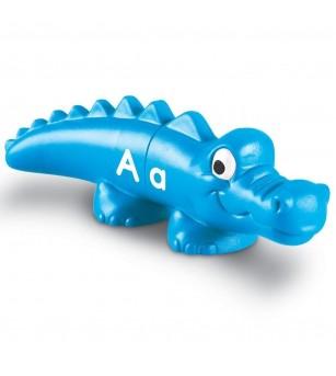 Crocodili cu litere - Jucării limbaj