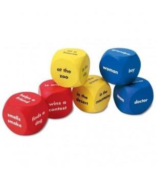 Cuburi pentru construit povestiri - Jucării limbaj
