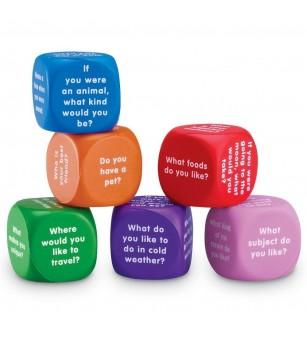 Cuburi pentru conversatii - Jucării limbaj
