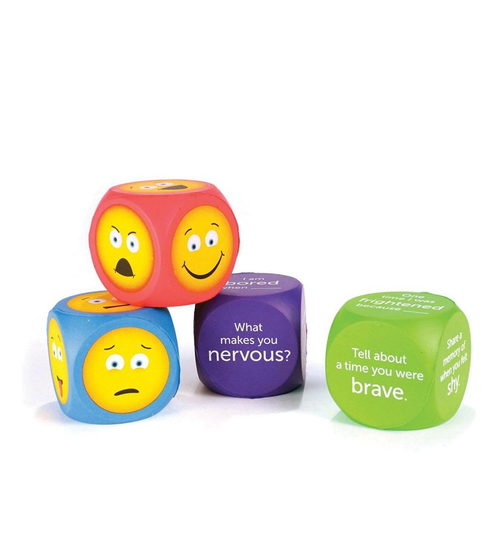 Cuburi pentru conversatii - EMOJI - Jucării limbaj