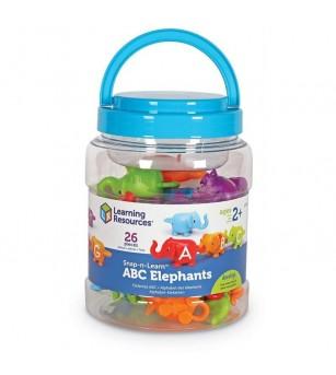 Elefantei cu litere - Jucării limbaj
