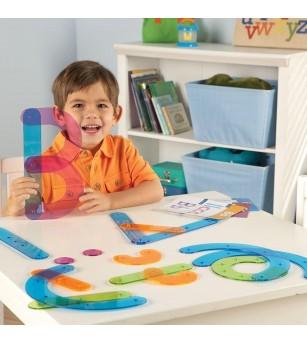 Sa construim alfabetul! - Jucării limbaj