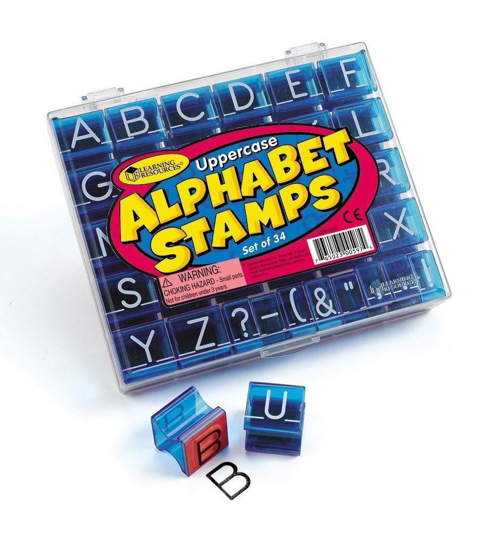 Stampile Alfabet - Lucru manual