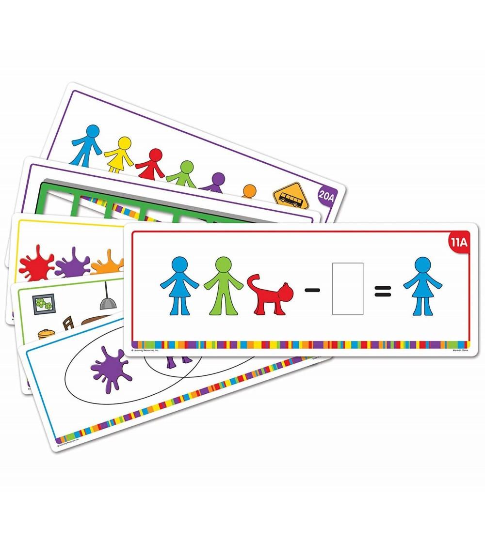 Carduri activitati - Familia mea - Jucării matematică