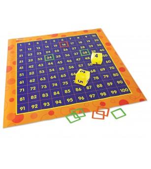 Covoras pentru invatarea sutelor - Jucării matematică