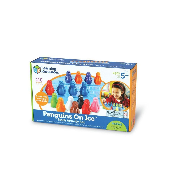 Set de matematica - pinguinii pe gheata - Jucării matematică
