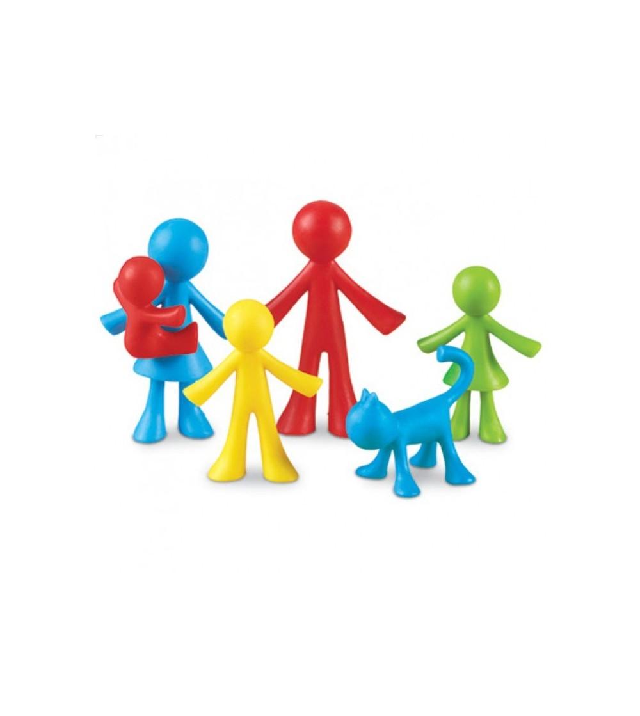 Set pentru sortat si numarat - Familia mea - Jucării matematică