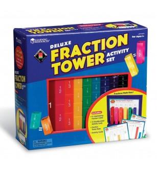 Turnul fractiilor - set activitati - Jucării matematică