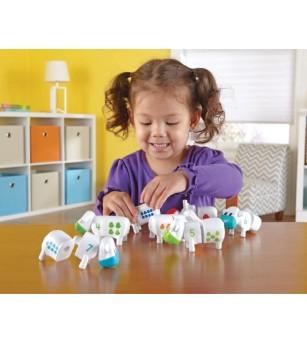Vacute cu cifre - Jucării matematică
