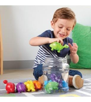 Dinozauri jucausi - Jucării matematică