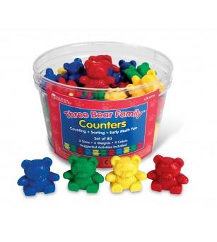 Familia ursuletilor - invatam masurarea - Jucării matematică