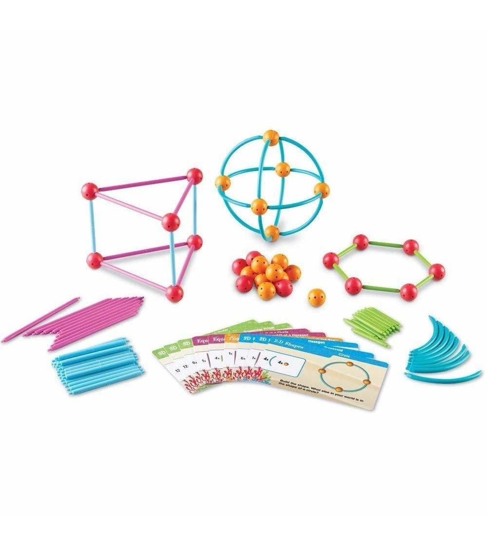 Set constructie - Forme 3D - Jocuri construcție