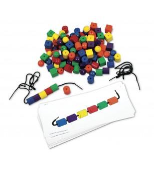 Set de margele si carduri - Jucării matematică