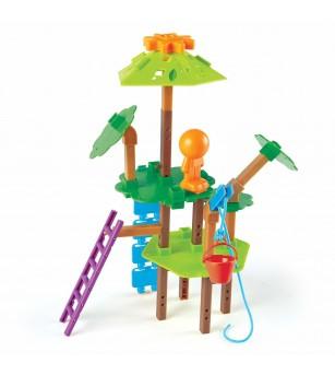 Set STEM - Casuta din copac - Jocuri STEM