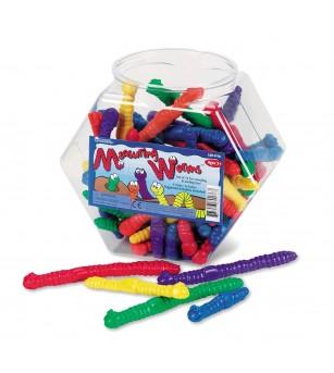 Viermi pentru masurat (set 72 buc) - Jucării matematică