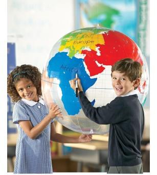 Learning Resources - Glob pamantesc gonflabil - Mediu înconjurător