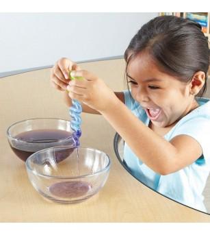 Set ustensile pentru experimente Learning Resources - Apa si Nisip - Mediu înconjurător
