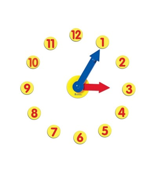 Set de activitati cu ceas - Ceas și calendar