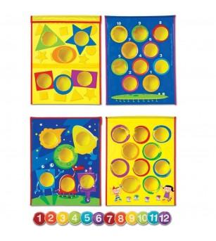 Aruncari inteligente - sacul cu fasole - Jocuri de îndemânare