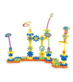 Set de constructie - Gears! Fabrica de robotei - Jocuri construcție