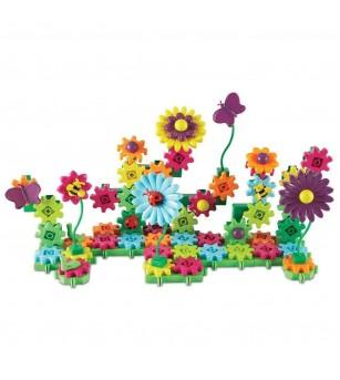Set de constructie - Gears! Floral - Jocuri construcție