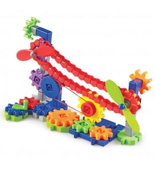 Set de constructie Gears! - Utilaje in miscare - Jocuri construcție