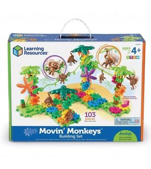 Setul constructorului - maimutele buclucase - Jocuri construcție