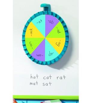 Roata magnetica pentru clasa - Jucării limbaj