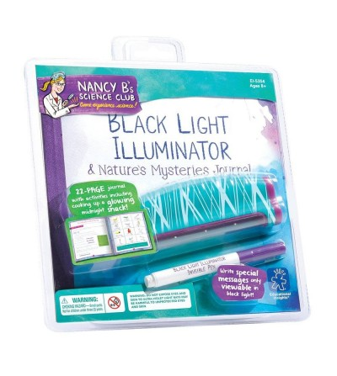 Lampa cu lumina ultravioleta si jurnal de activitati - Știință și tehnică