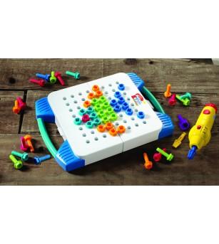 Bormasina Magica - set mobil - Jucării creativ-educative
