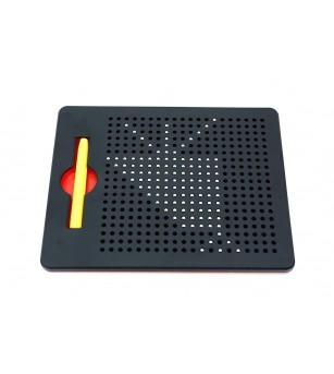 Tablita de desen cu magneti - 380 piese - Jucarii magnetice