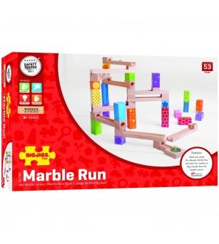 Marble Run din lemn - Jocuri construcție