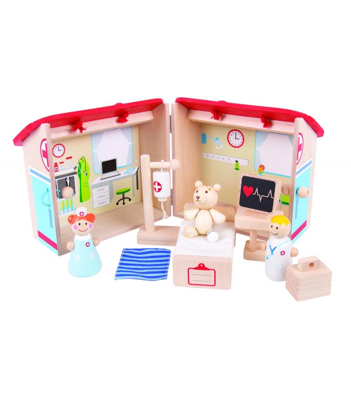 Mini Spitalul animalelor - Truse de medic pentru copii