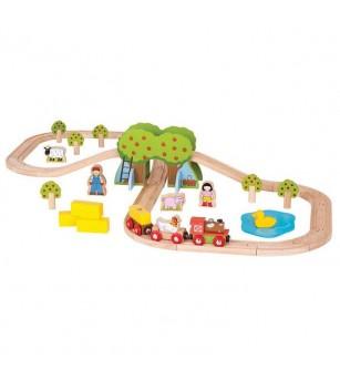 Trenuletul de la ferma - Vehicule de jucărie