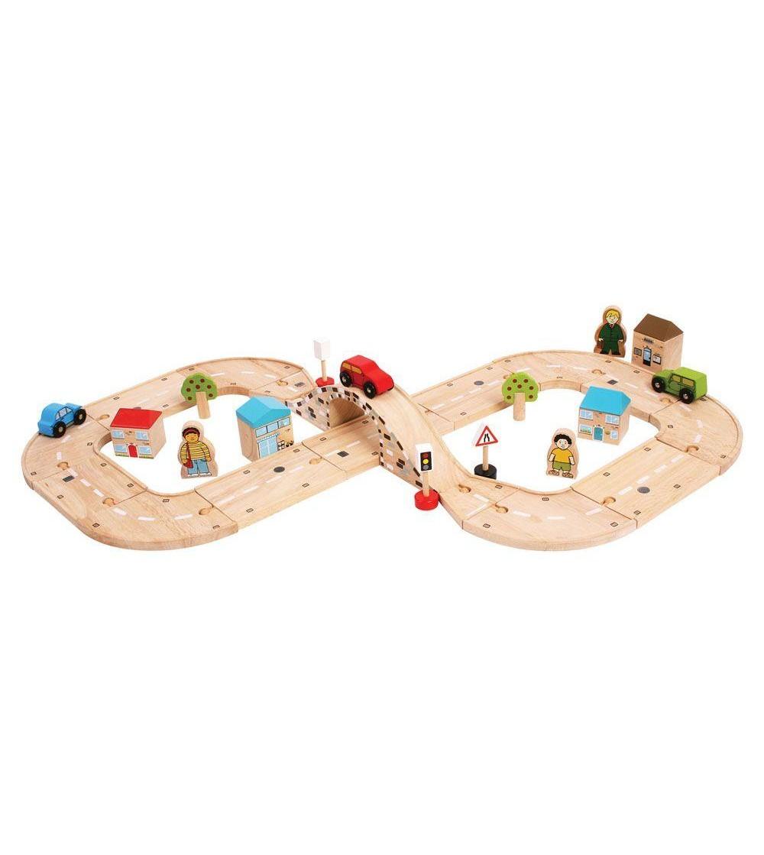 Circuit auto (37 piese) - Vehicule de jucărie
