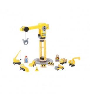 Set constructie - Macara - Vehicule de jucărie