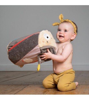Cilindru pentru impins - Ursuletul Bruno - Jucării bebeluși