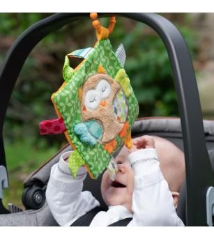 Jucarie fosnitoare - Bufnita - Jucării bebeluși