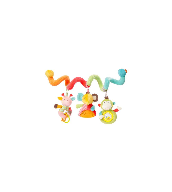 Jucarie spirala-Animalutele din safari - Jucării bebeluși