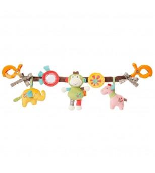 Jucarie carucior - Animalute vesele - Jucării bebeluși