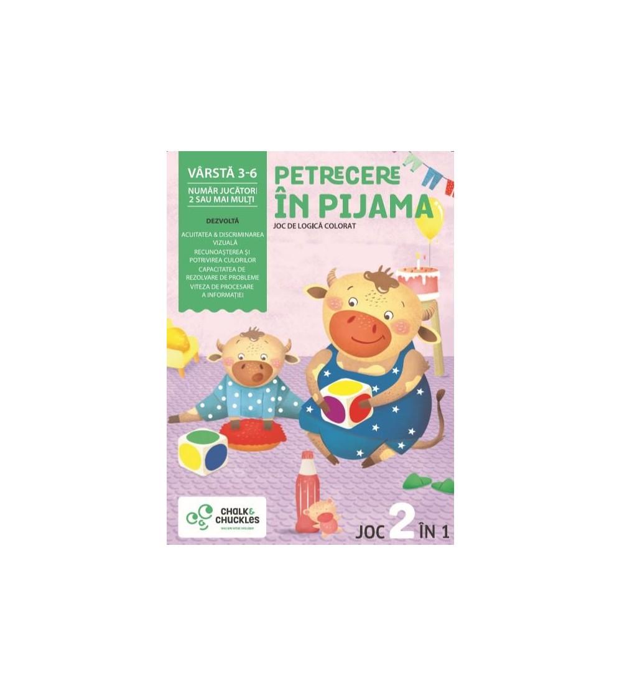 Joc Chalk and Chuckles - Petrecere in pijama - Jocuri de memorie și asociere