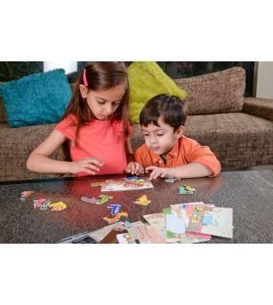 Joc de memorie Chalk and Chuckles - Omiduta dezordonata - Jocuri de memorie și asociere