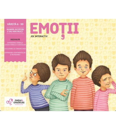 Joc interactiv Chalk and Chuckles - Emotii