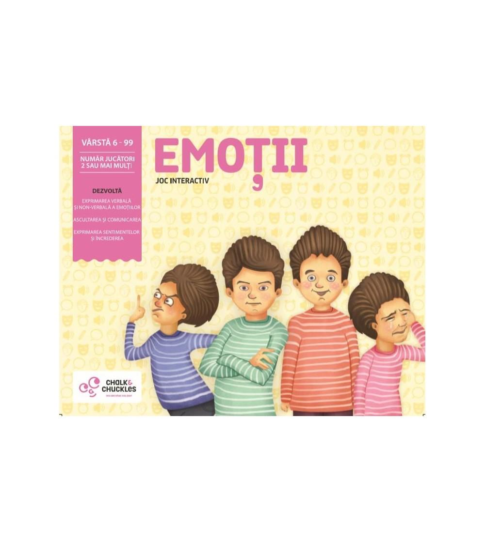 Joc interactiv Chalk and Chuckles - Emotii - Jocuri de masă
