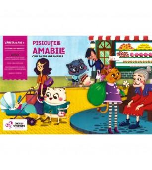 Joc interactiv Chalk & Chuckles - Pisicutele amabile - Jocuri de cooperare