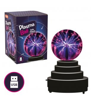 Jucarie interactiva Keycraft - Glob cu plasma - Mediu înconjurător