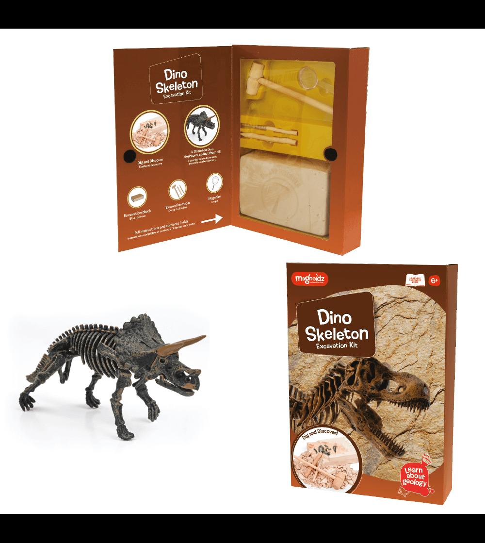 Kit excavare Keycraft - Dinozaur - Mediu înconjurător