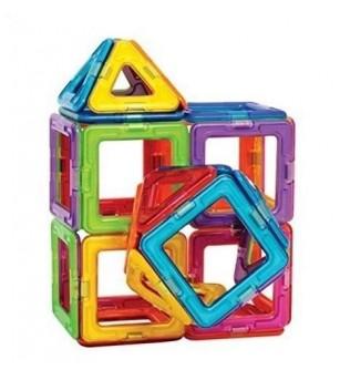 Joc de constructie magnetic MagPlayer - 45 piese - Jucarii magnetice