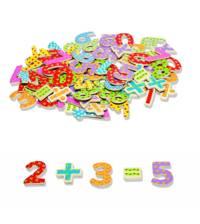 Numere magnetice - Jucării matematică