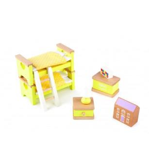 Mobilier pentru casuta papusii - Dormitor - Căsuțe de păpuși și accesorii